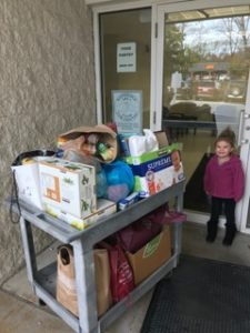 Donation to the Bainbridge Food Pantry