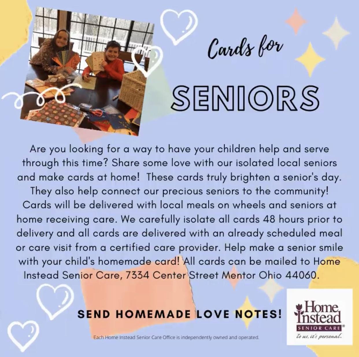Senior Letters